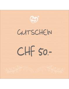 CHF 50.- Gutschein