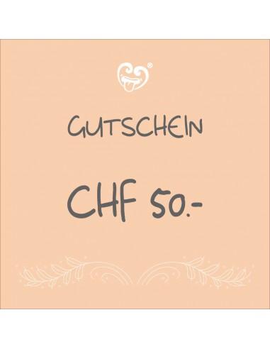 CHF 50.- Voucher